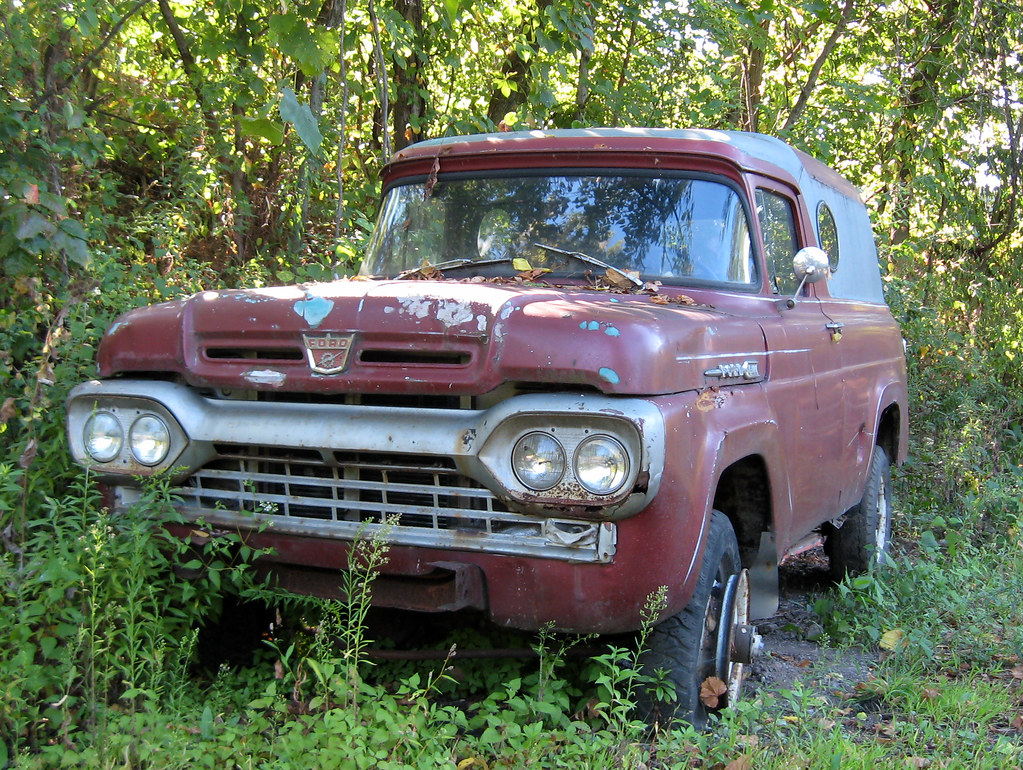 Whitaker PA: 1960 Ford Panel Truck | On Route 837 between Wh… | Flickr