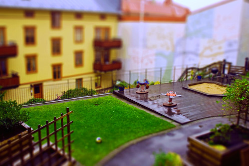 A backyard in rain | by martin fredholm