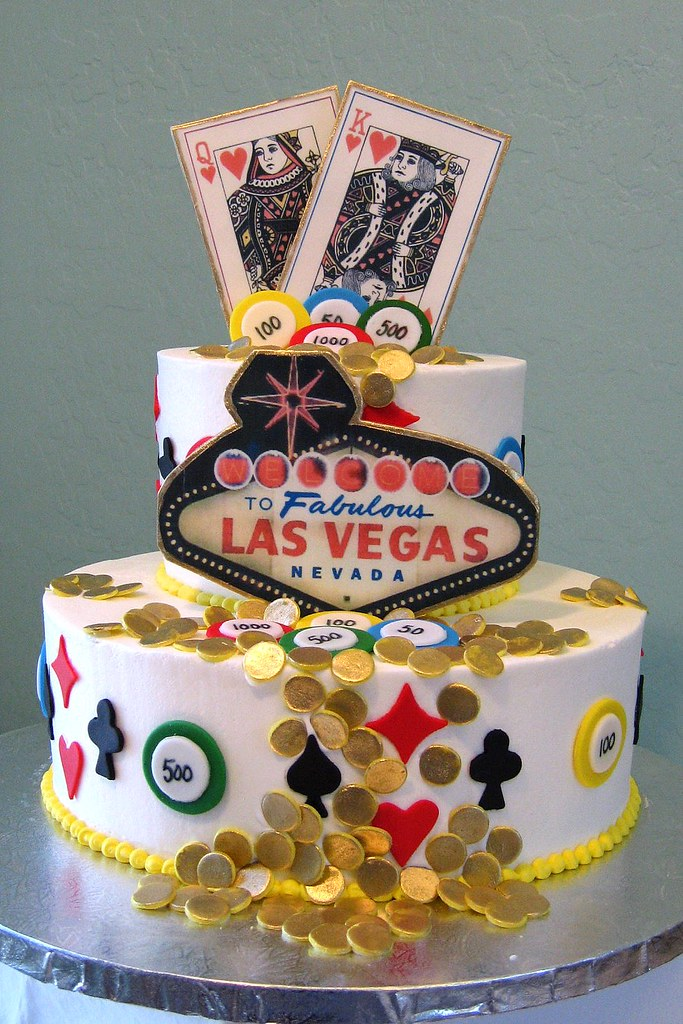 Las Vegas Birthday Cake Viva Las Vegas Birthday Cake Flickr