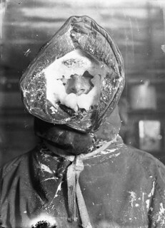 Ice mask, C.T. Madigan, between 1911-1914 / photograph by Frank Hurley | by State Library of New South Wales collection
