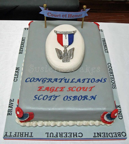 Eagle Scout Cake Made for an Eagle Scout ceremony ...