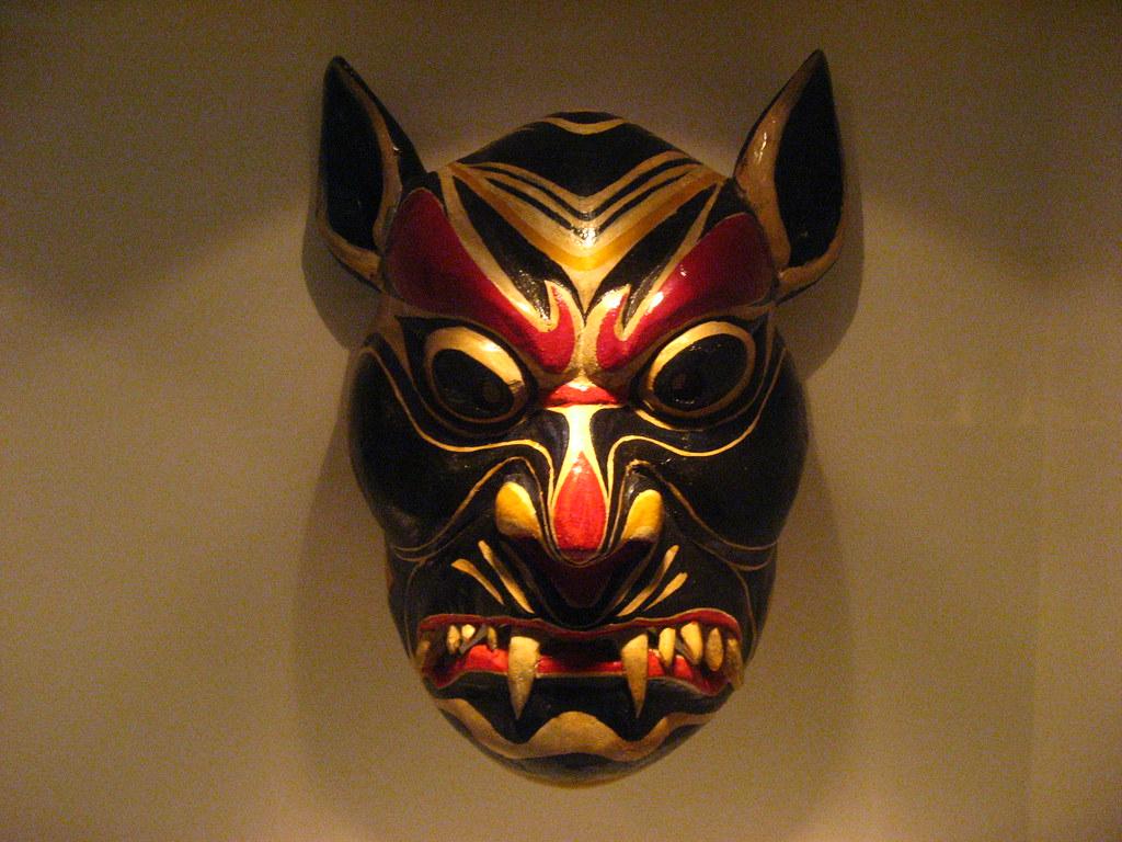 Asian mask wallpaper — photo 7