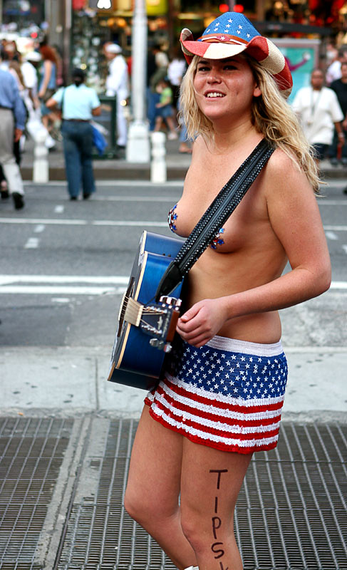 Naked cow girl nyc this brilliant