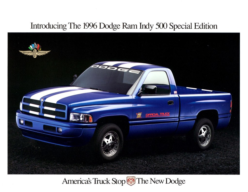 1996 Dodge Ram Indy 500 Special Edition Alden Jewell Flickr