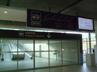 CDGVAL Airport Shuttle @ Terminal 1 | by (^_~) [MARK'N MARKUS] (~_^)