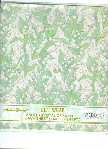 American Greetins Wedding wrap | by Jane Little