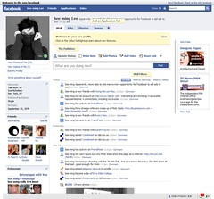 Facebook: New Design / 2008-07-21 / SML Screenshots | by See-ming Lee 李思明 SML