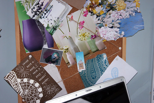 My study- inspiration board | by ::Christine::