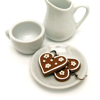 "Gingerbread Hearts (Czech traditional christmas ""pernicky"") 