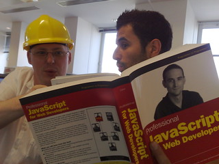 Bob and Adriano enjoy Professional JavaScript Web Development | by sh1mmer