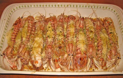 Canocchie al forno appena sfornate ricetta sul mio blog for Cucinare in 3d