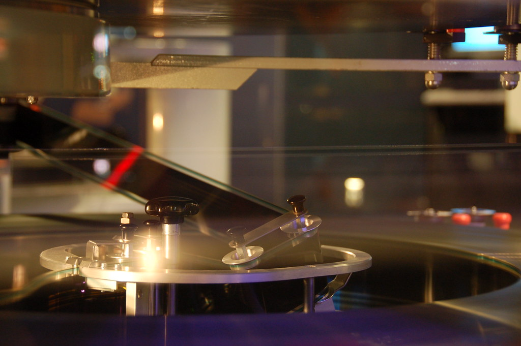 ... Boston Museum of Science: Omni IMAX projector film spool detail | by  Chris Devers