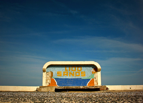 Lido Sands - Margate, Kent | by only lines