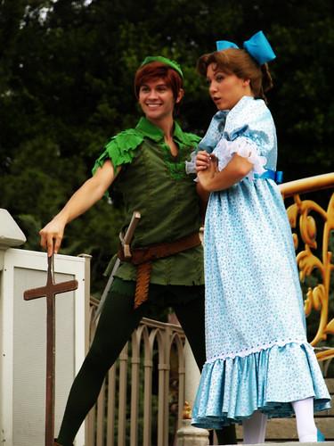 Peter Pan and Wendy at Disney World | Disney World ...
