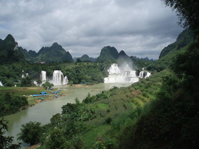 Border of Vietnam and China