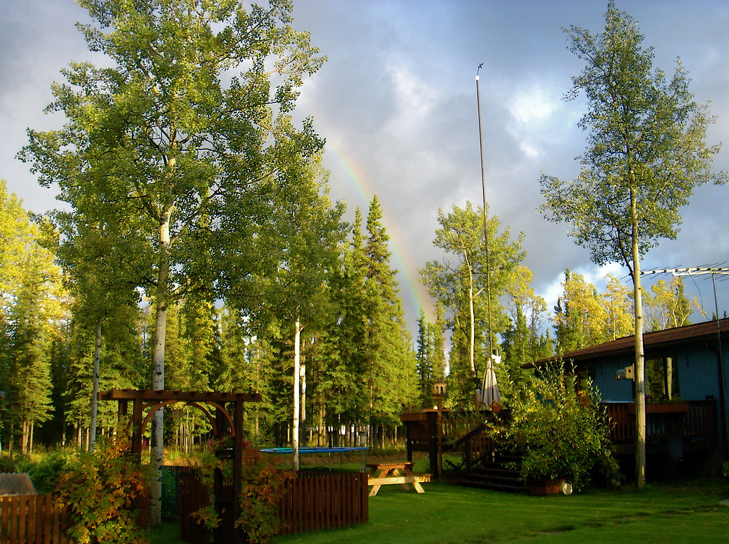 Backyard Weather Station weather station in backyard, tok alaska | this photo is publ… | flickr