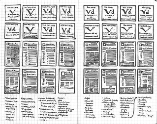 Vanilla Draft Wireframes | by Mark Benson