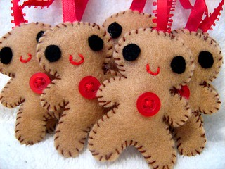 Ginger Bread Men Ornament | by Vivikas