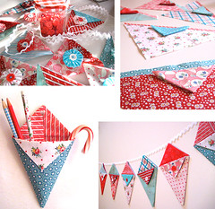 Pennie Pockets - Little pennant pockets of happiness | by Happy Zombie