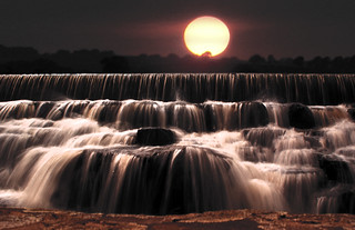 Sunset Waterfall | by Neil@photos dot com
