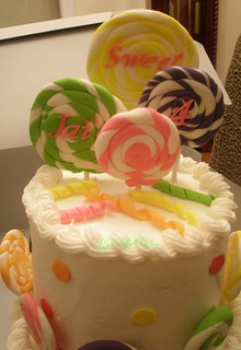 Jai's Lollipop Cake | by Oh, Sugar! (Destini Hinkle)