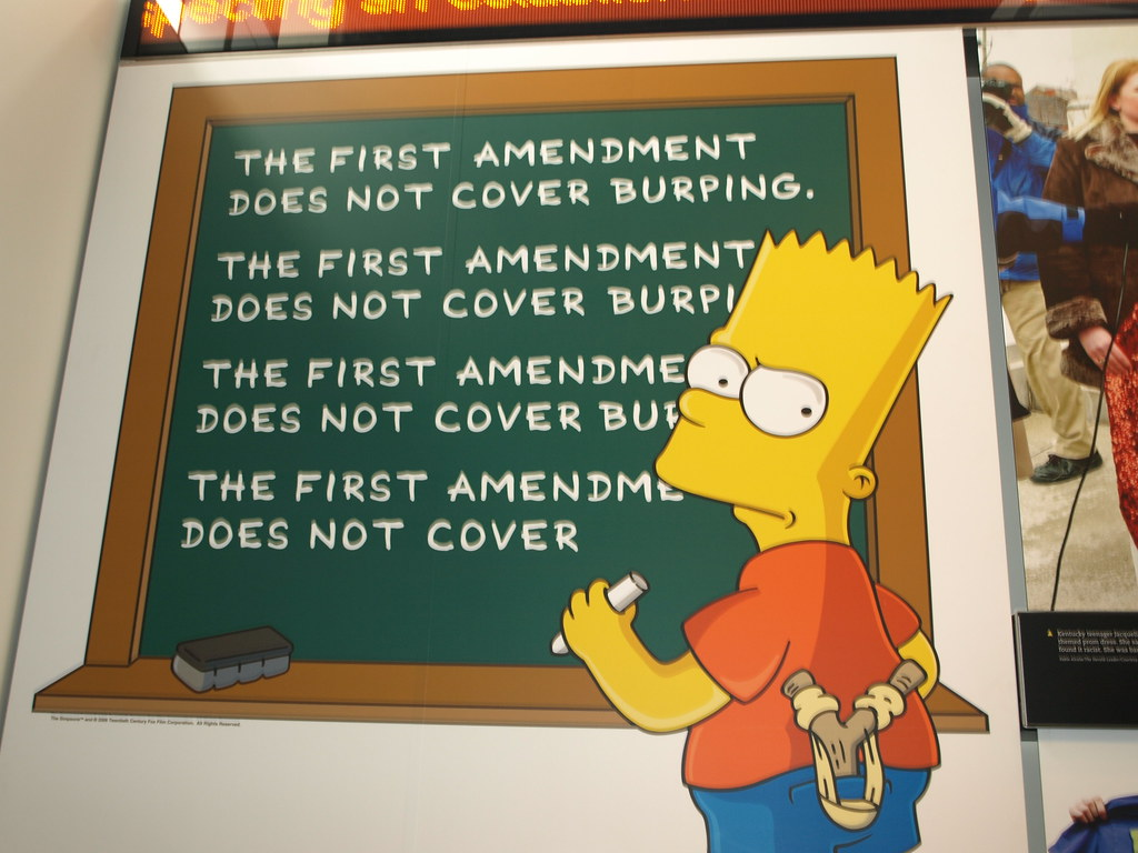 The First Amendment Does Not Cover Burping  Then Whats Th  Flickr By Wfyurasko The First Amendment Does Not Cover Burping  By Wfyurasko Essay On Religion And Science also What Is An Essay Thesis  Writing Services Fees