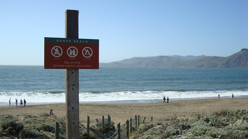 Baker Beach Sign - Wide Shot | by A Name Like Shields Can Make You Defensive