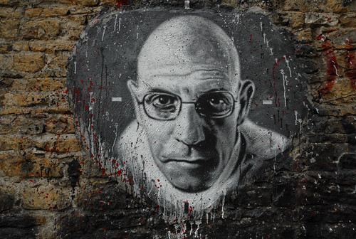 Michel Foucault, painted portrait DDC_7448.jpg | by Abode of Chaos