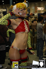 Tandem Twin Schell, Comic Con 2008, Project Cosplay | by Project Cosplay Supplemental Remix