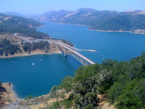 View From Lake Sonoma Lookout | by healdsburgmagazine