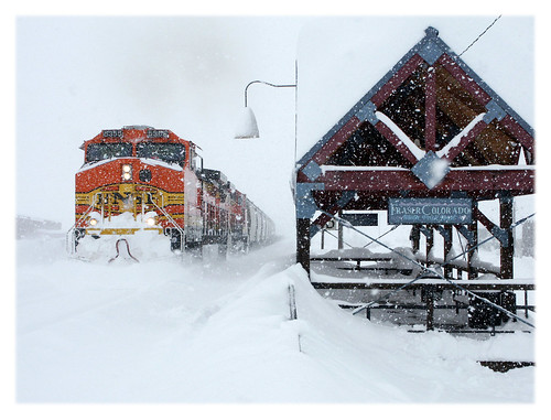 Snow Train in a Colorado Winter | by sjb4photos