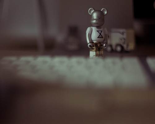 i like this lil bearbrick a lot. | by brandon king