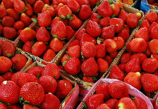 Strawberries (La Trinidad, Benguet) | by ~MVI~ (warped)