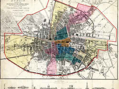 Old Maps Of Dublin Flickr - Old maps of dublin