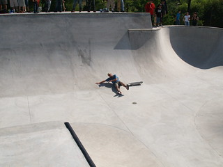 Houston Texas The Grand Opening to the Lee and Joe Jamail Skate park Downtown Bowl Riding Vert Skateboarding June 1 2008 P6015701 | by mrchriscornwell