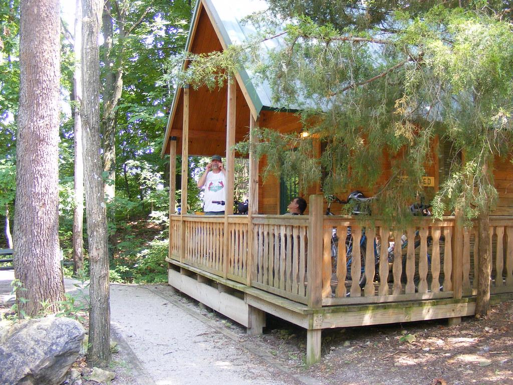 Charming ... Cabin At Klondike Park | By John Renfro