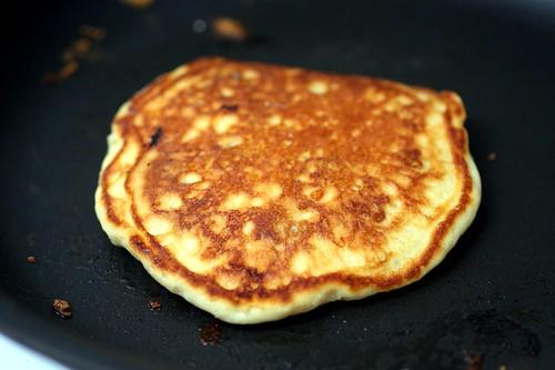 pancake flipped slightly late | Blueberry Pancakes + Pancake ...