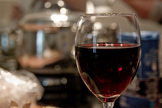 Red Wine and Bokeh | by BasL