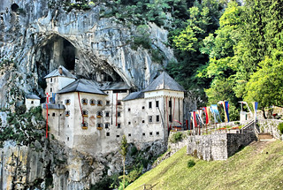 Predjama Castle | by Dragos Cosmin- Getty Images Artist