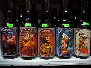 dieu du ciel on the shelf @ le paradis de la bière | by sashafatcat