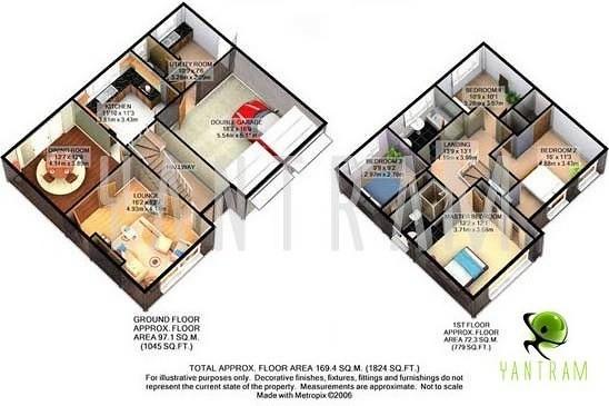 Virtual house plan tours