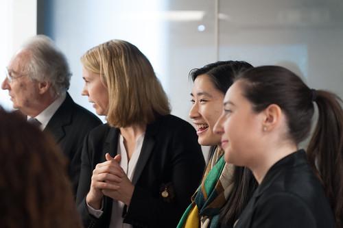 Collaborative Classroom Van Pelt : Collaborative classroom open house ceremony for