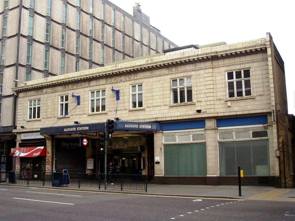Image result for Aldgate Station