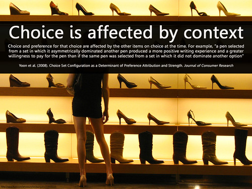 choice and context | by Will Lion