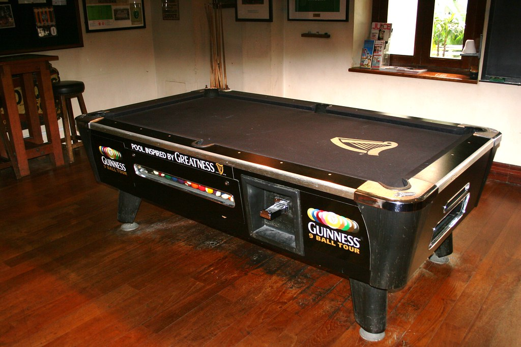 Guinness Ball Pool Table Keith B Flickr - Guinness pool table