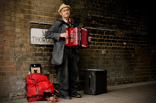 Thoroughfare Busker | by Andrew Stawarz