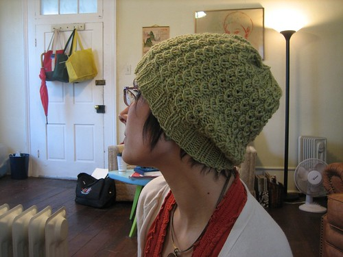 081025. sarah's slouchy hat. | by Famous the Cat