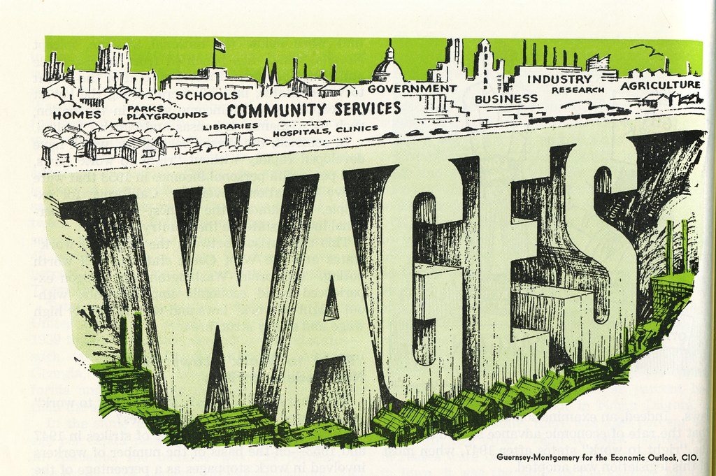 Wages  >> Wages A Cartoon About Demand Side Economics From Right Flickr