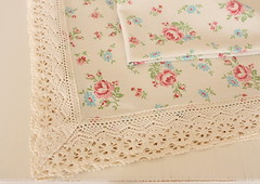 shabby chic table cloth | by cottonblue
