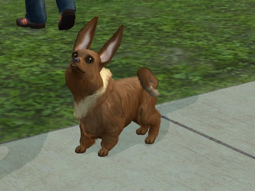 Hair Style Eevee: I Was Going Through My EA File And
